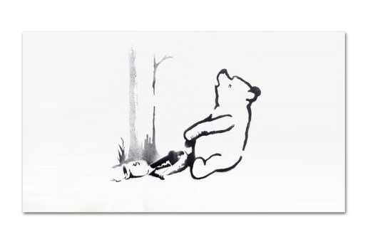 "Two of Banksy's Central Park ""Spray Art"" Canvases Sell for $214,000 USD"