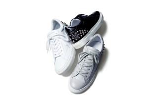 uniform experiment Leather Studs Sneaker