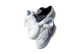 uniform experiment Leather Studs Sneaker
