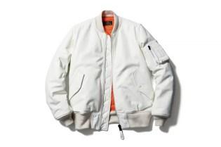 uniform experiment x Alpha Industries 2014 Fall/Winter Leather MA-1