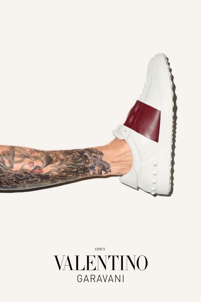 valentino 2014 fall winter sneakers campaign