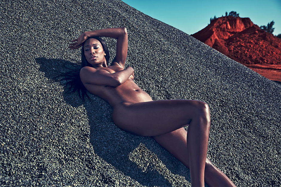 venus williams nigel sylvester and more strip down for espn the magazines body issue