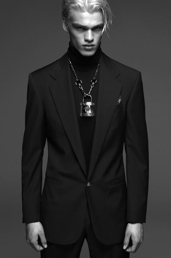 versace 2014 fall winter campaign