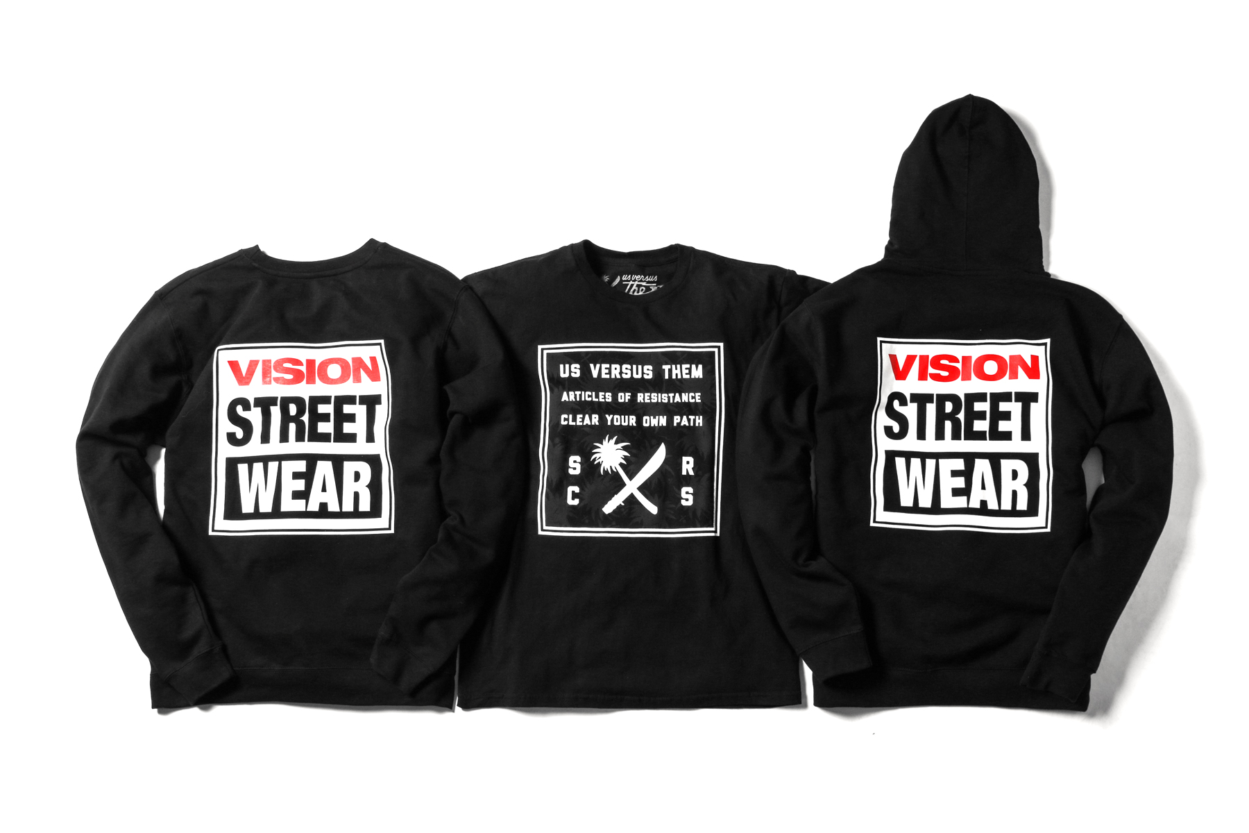 Vision Street Wear x Us Versus Them 2014 Collection