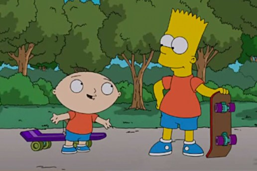Watch the Trailer for The Simpsons x Family Guy Crossover