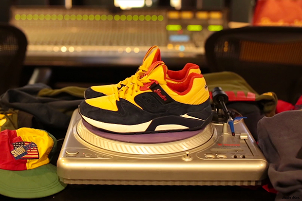 Packer Shoes x Saucony Grid 9000 Preview