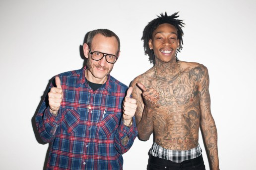 Wiz Khalifa Visits Terry Richardson's Studio