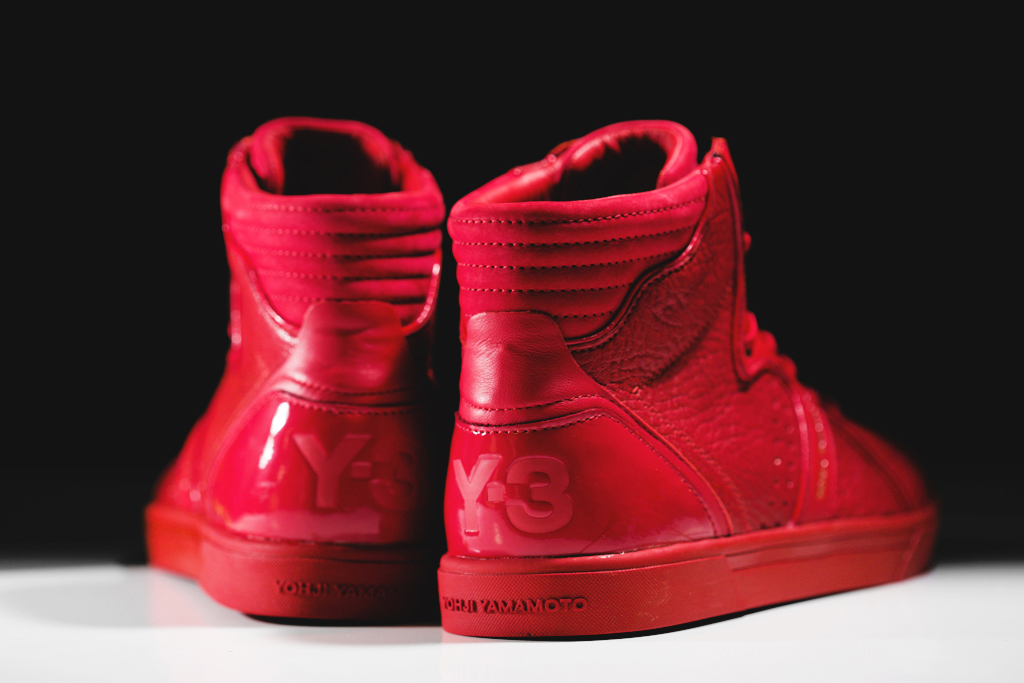 y 3 rydge all red