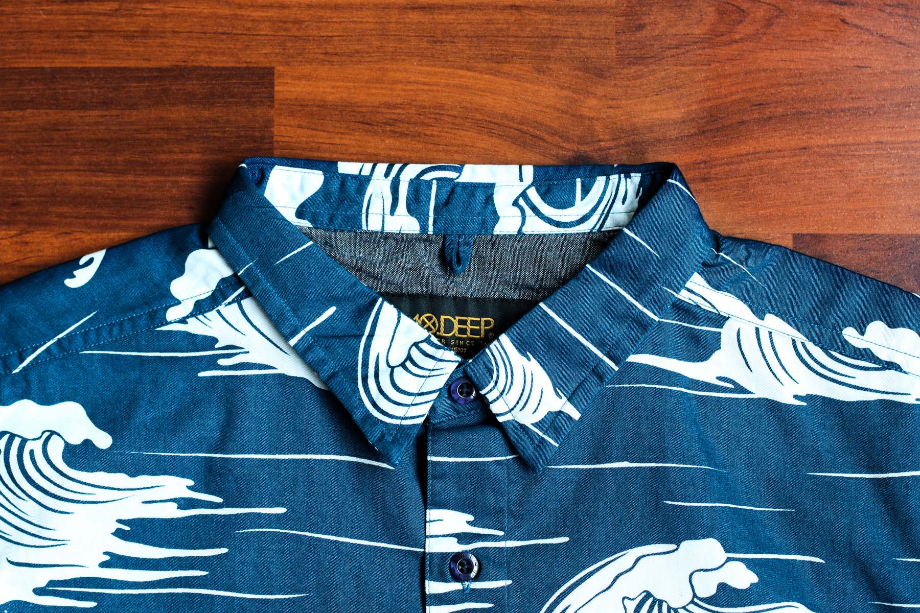 10.Deep 2014 Fall/Winter Island Life Button-Down Shirt