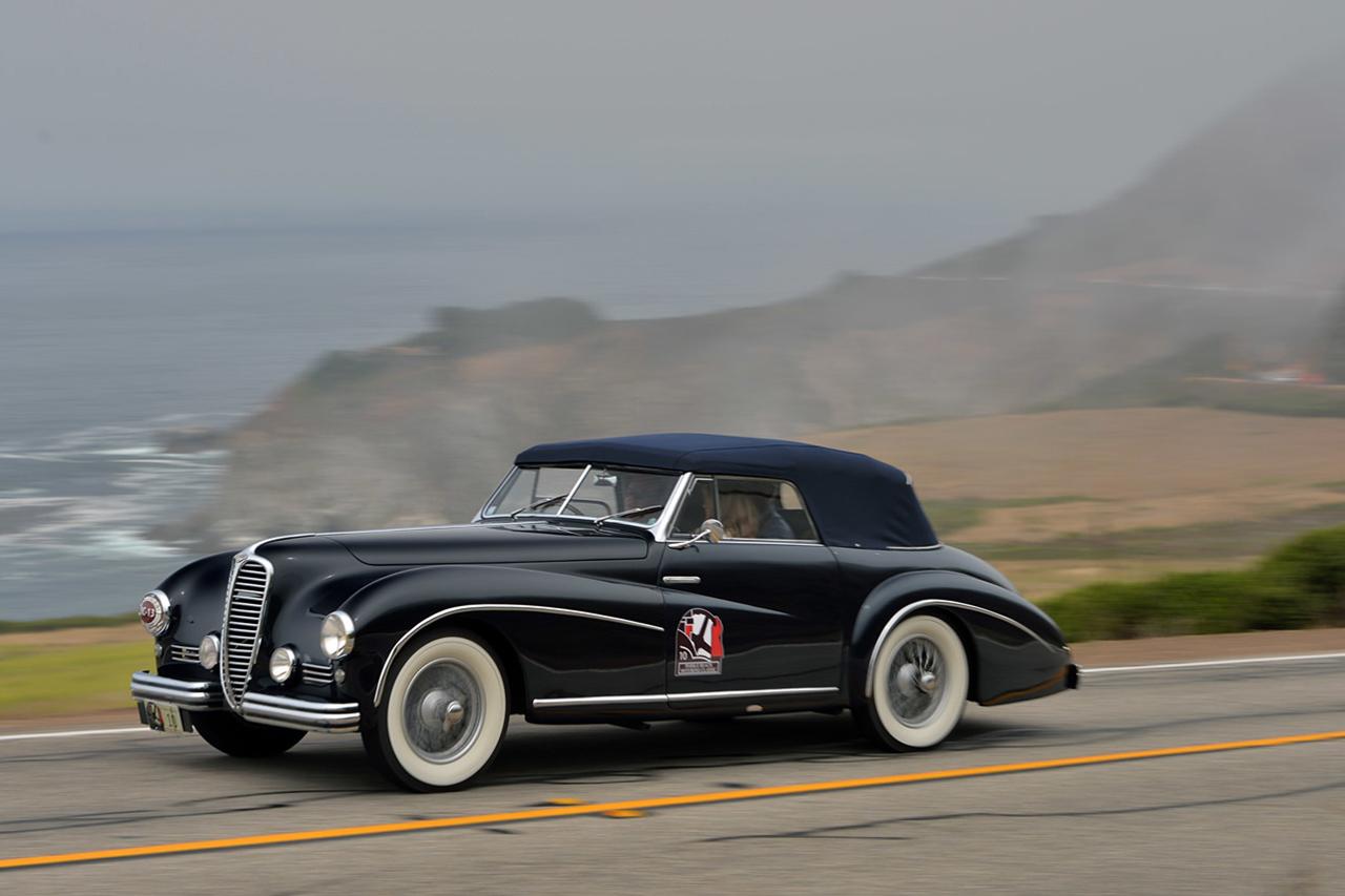 A Meeting of Rare Vintage Classics: The 2014 Pebble Beach Tour d'Elegance