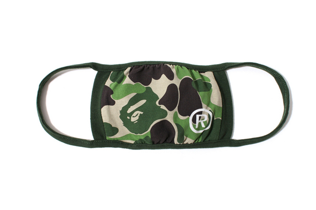 cut out airborne illness with a bathing ape facemasks