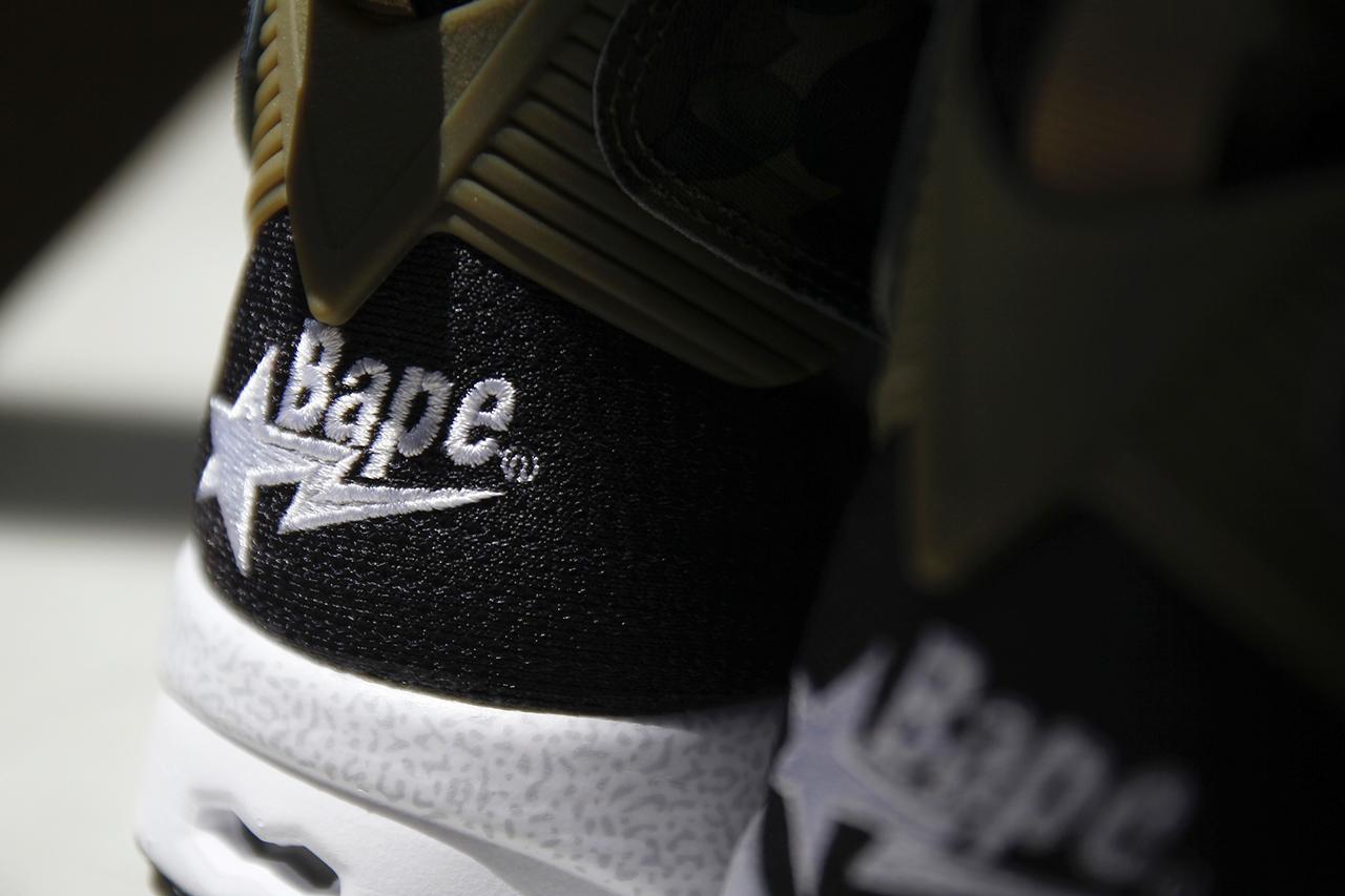 "A Closer Look at A Bathing Ape x mita sneakers x Reebok Instapump Fury OG ""Camo"""