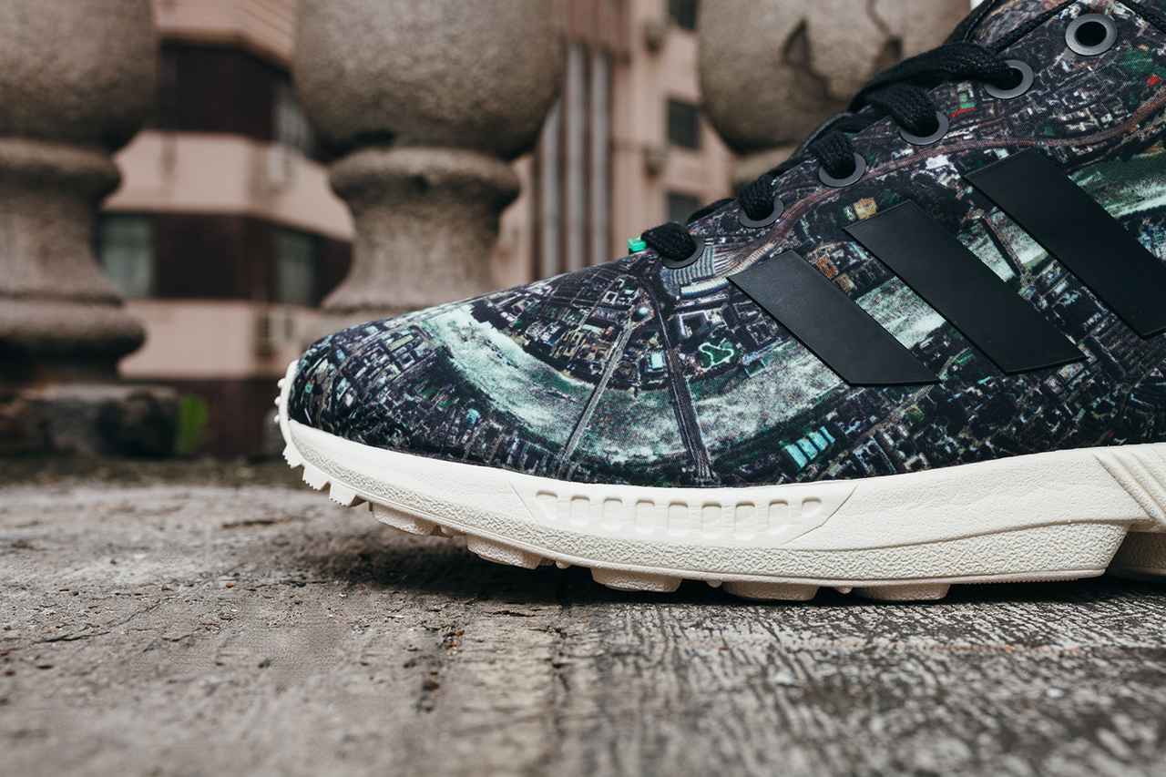 a closer look at the adidas originals zx flux london