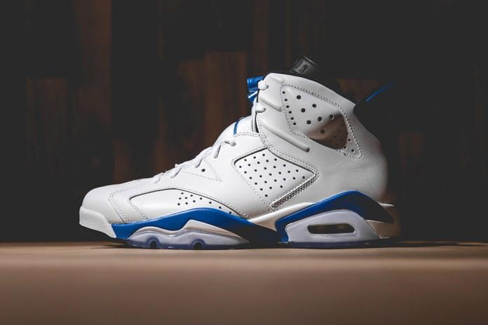 "A Closer Look at the Air Jordan 6 Retro ""Sport Blue"""