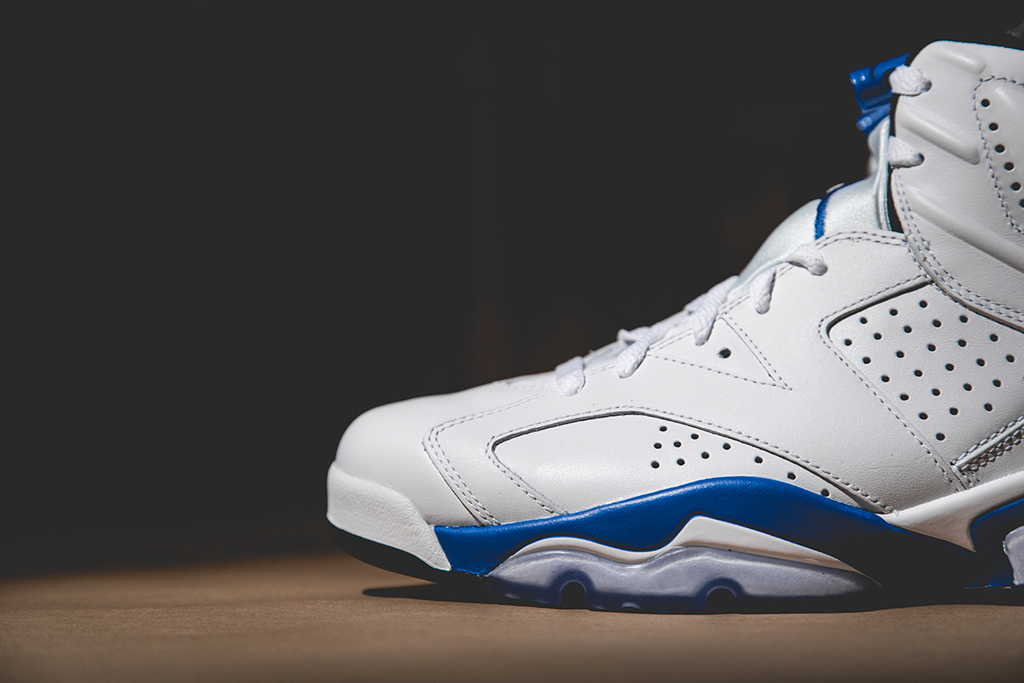 "A Closer Look at the Air Jordan 6 Retro ""Sport Blue"""