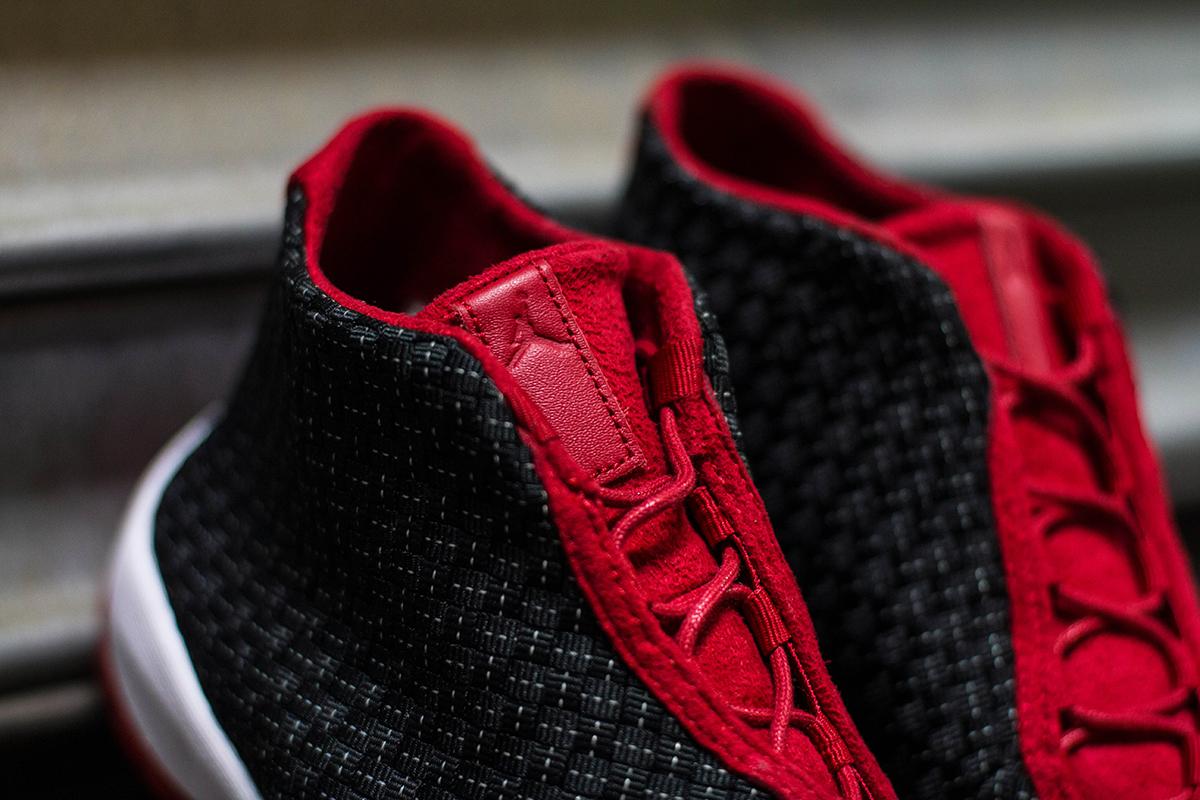 "A Closer Look at the Air Jordan Future Premium ""Bred"""