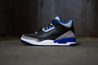 "A Closer Look at the Air Jordan 3 Retro ""Sport Blue"""