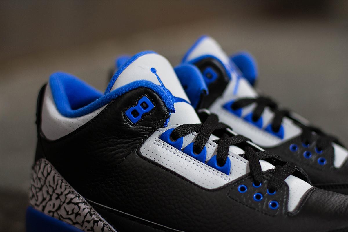 a closer look at the air jordan iii retro sport blue