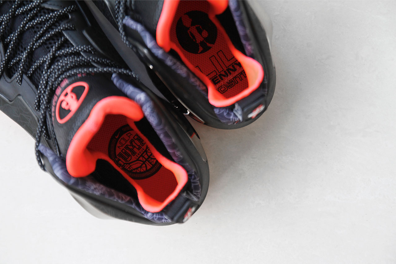 "A Closer Look at the Nike Lil Penny Posite ""NOLA Gumbo League"""