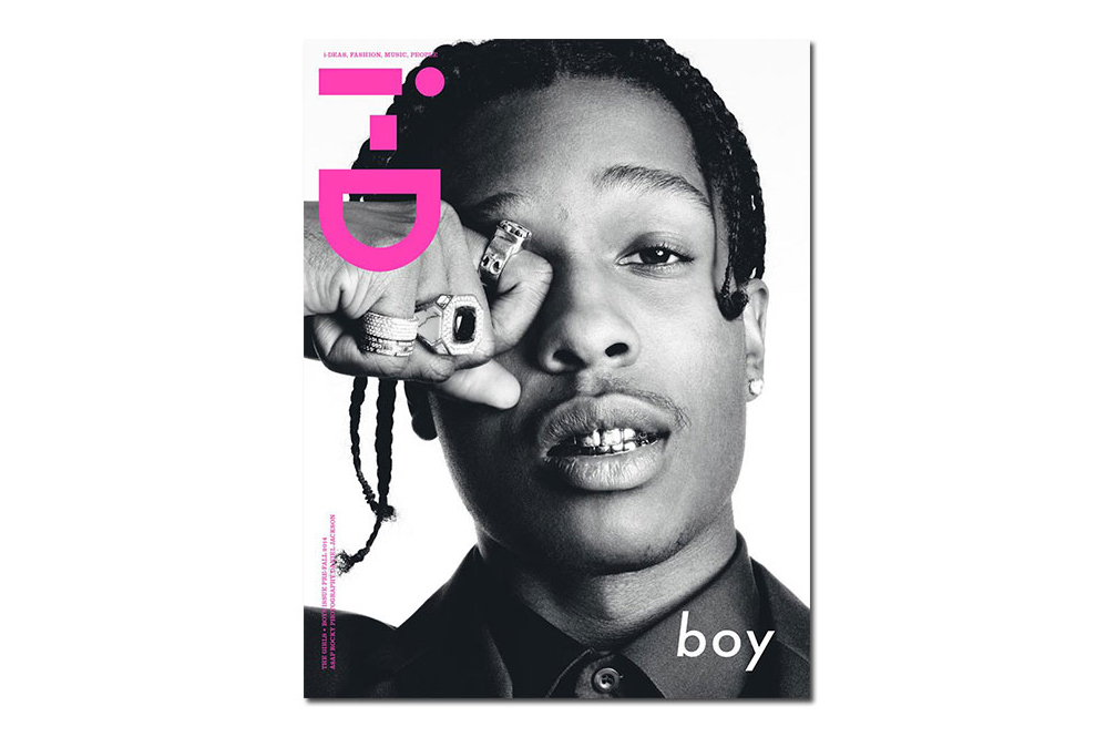 "A$AP Rocky & Binx Cover i-D Magazine's ""Girls & Boys"" Issue"