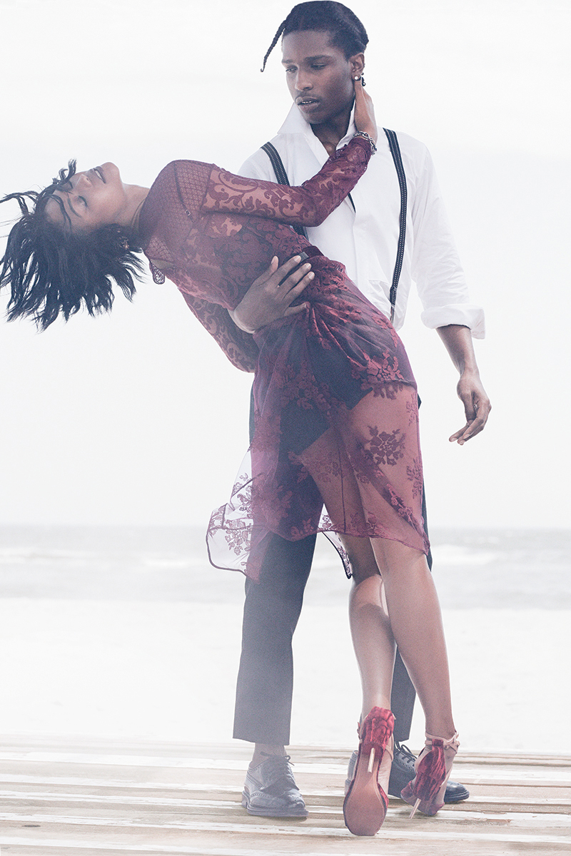 aap rocky chanel iman by mikael jansson for vogue