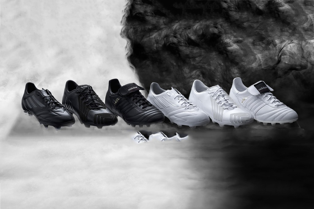"adidas Copa Mundial, f50 & Predator ""Black/White"" Collection"