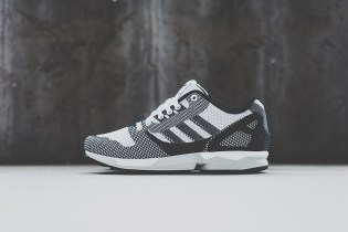 "adidas Originals ZX Flux ""8000 Weave"" White/Black"