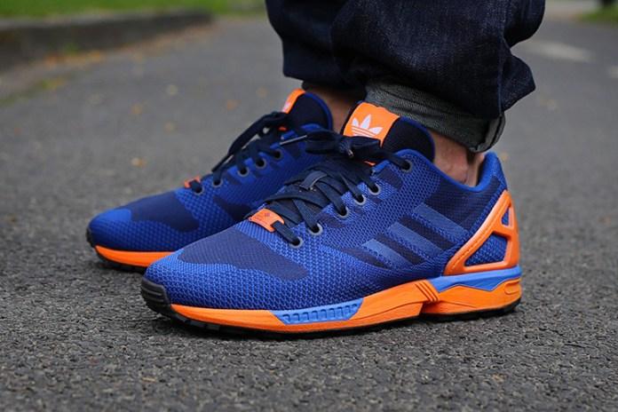 adidas Originals ZX Flux Weave Blue/Orange