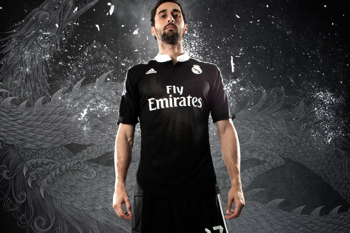 adidas Unveils Real Madrid's 2014/15 Third Kit by Yohji Yamamoto