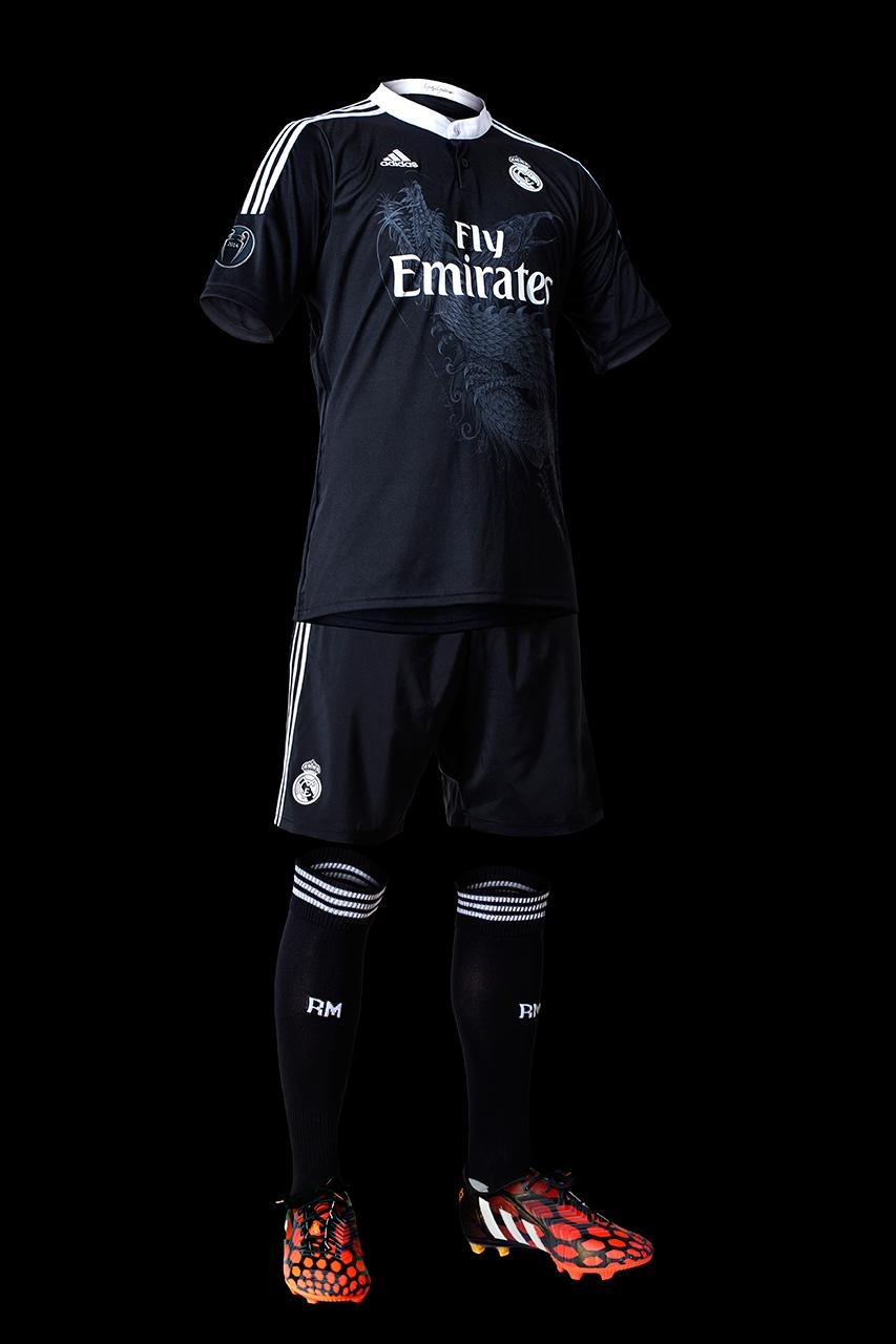 adidas unveils real madrids 2014 15 third kit by yohji yamamoto