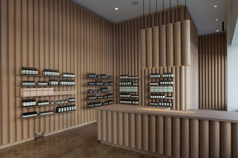 aesop downtown los angeles by brooks scarpa architects