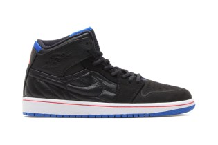 Air Jordan 1 Retro '99 Black/Sport Blue-Infrared 23-White