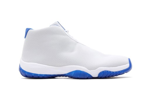 Air Jordan Future White/Sport Blue & Dark Grey/Volt