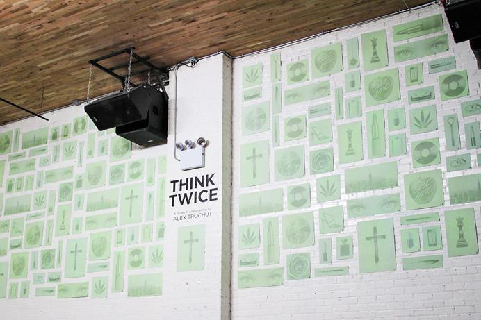 """Alex Trochut """"Think Twice"""" @ Kinfolk 94"""