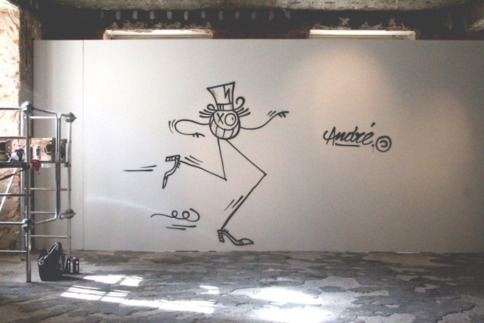 André Saraiva Speaks On His Largest Retrospective Exhibition To Date and Parisian Graffiti