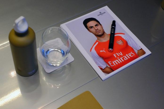Arsenal's Mathieu Flamini, Mikel Arteta and Abou Diaby Talk Style, Watches and JEANRICHARD