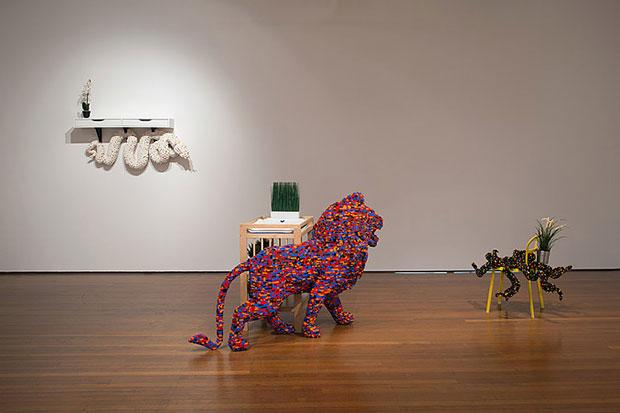 Artists Combine LEGO with IKEA Furniture