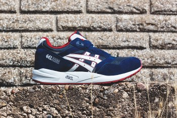 ASICS 2014 Fall Gel Saga Navy/Soft Grey