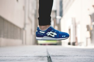 "ASICS 2014 Fall/Winter Gel Lyte III ""Estate Blue"""