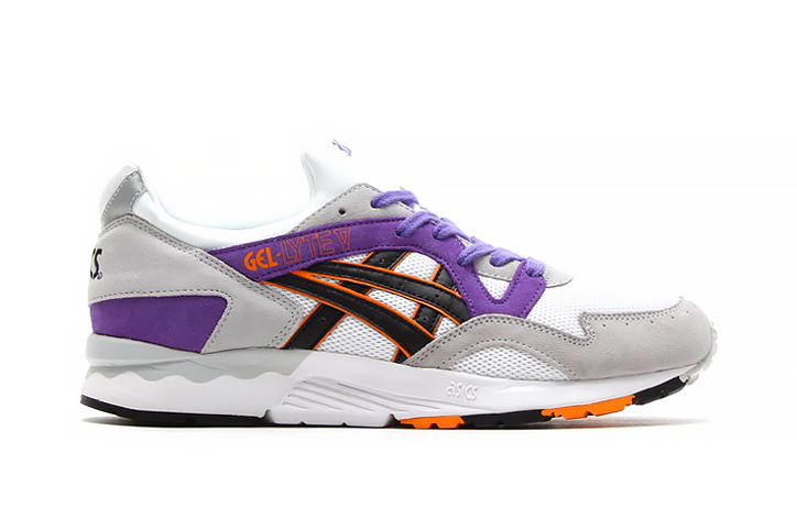 ASICS Gel Lyte V White/Purple/Orange