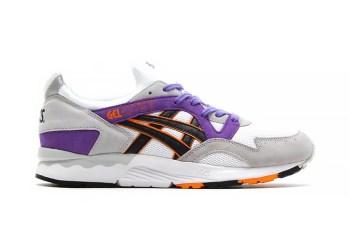 ASICS Gel Lyte V White/Purple/Orange