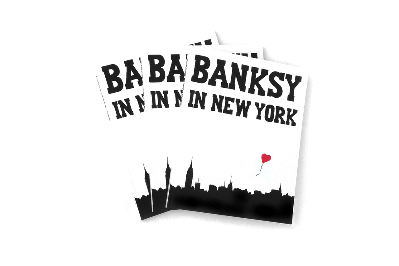 'Banksy in New York' Limited Edition Book by Ray Mock