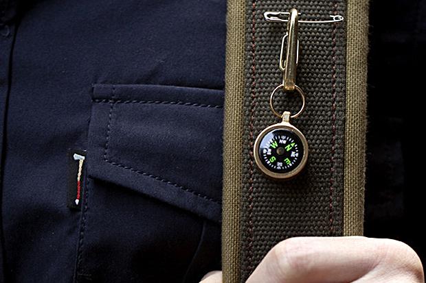 Best Made Co. Brass Compass & Clip