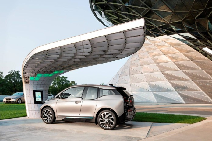 BMW Welt Point.One Solar Charging Station by EIGHT