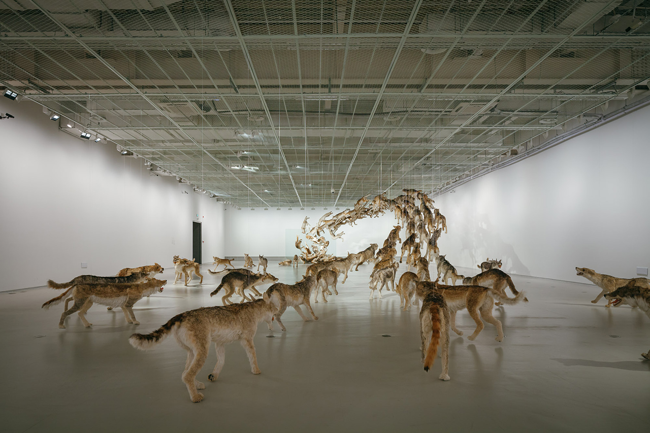 """Cai Guo-Qiang """"The Ninth Wave"""" Exhibition @ Power Station of Art"""