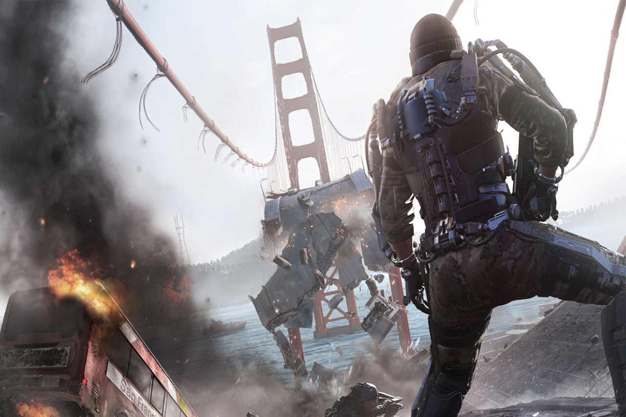 """Call of Duty: Advanced Warfare """"Collapse"""" Gameplay Trailer"""