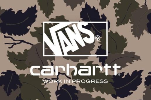 Carhartt WIP x Vans 2014 Fall Teaser