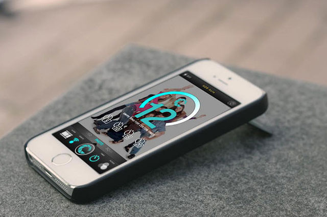 "CaseCam ""The Ultimate Selfie"" iPhone Kickstand"