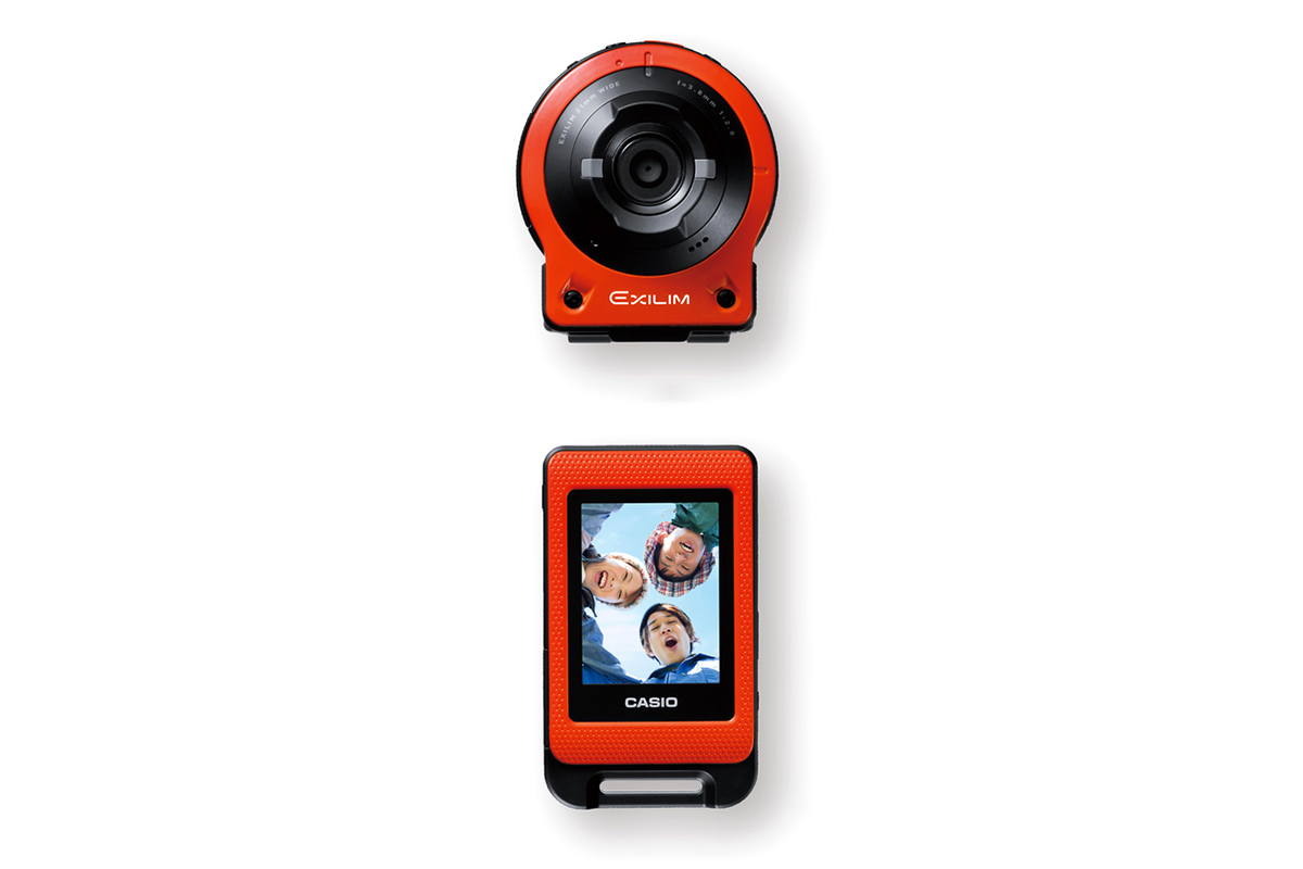 Casio Releases New Detachable Action Camera EX-FR10
