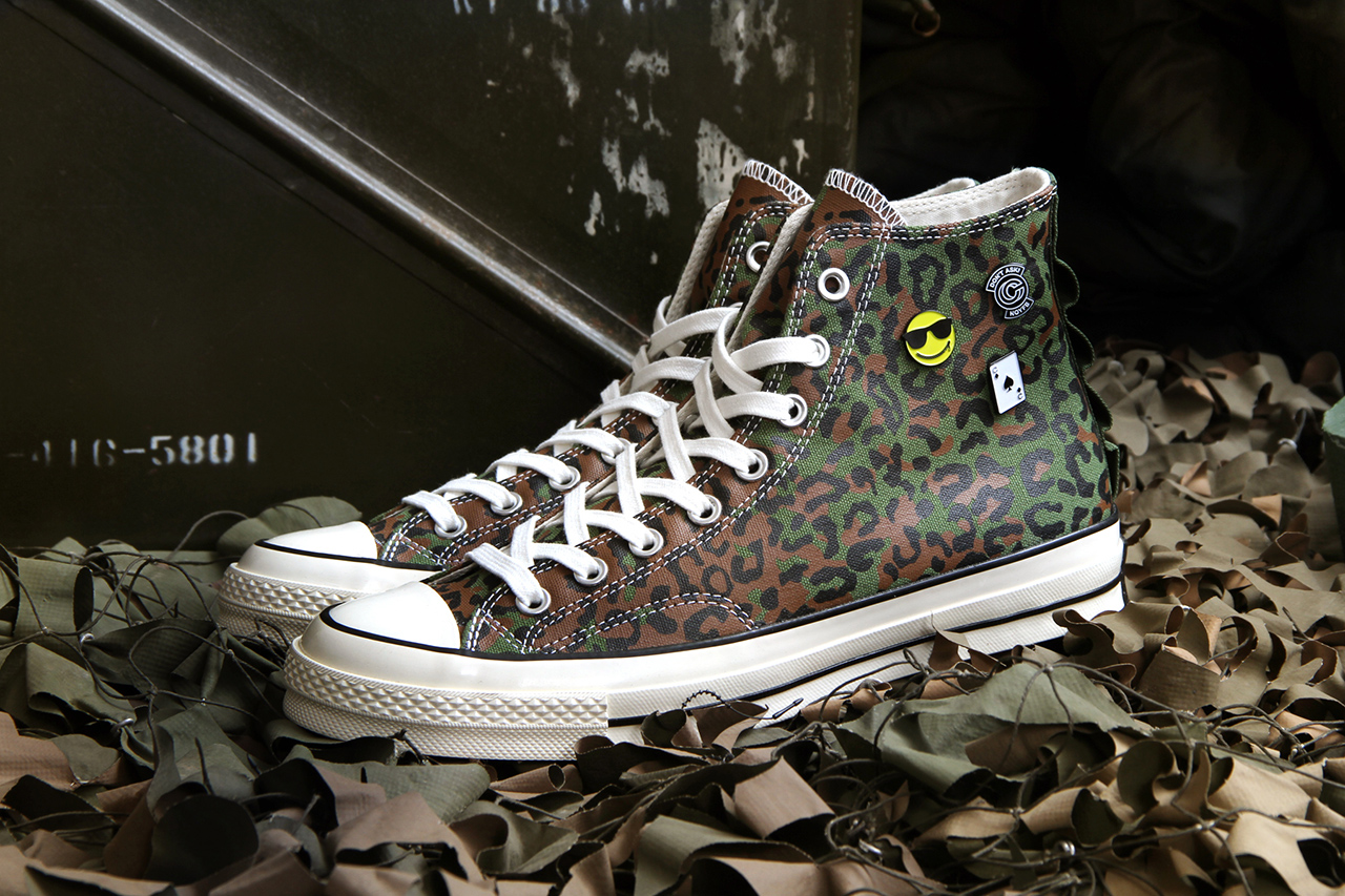 "Concepts for Converse Chuck Taylor All Star 1970s ""Zaire Leopard Camo"""